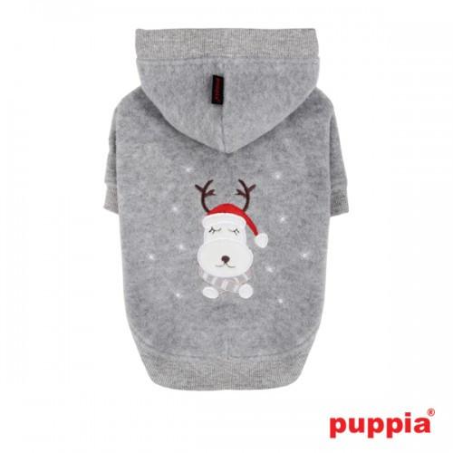 Felpa per cani Rudolph la Renna, Colore Grigio, Taglia 2XL - Puppia
