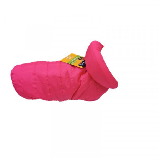 """Piumino per cani stile """"100 grammi"""", colore rosa - Collezione Vitakraft"""