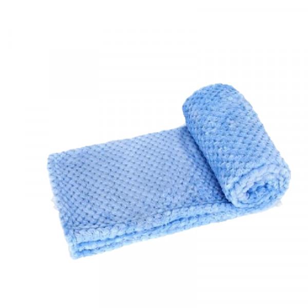 Coperta per cani trapuntata, colore azzurro - Nobleza