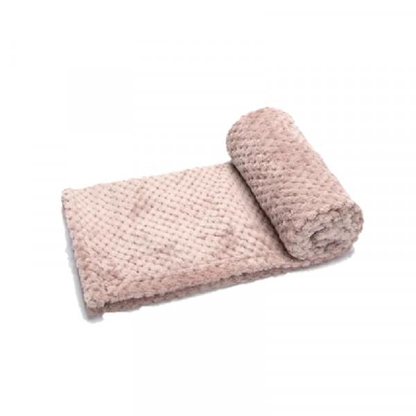 Coperta per cani trapuntata, colore rosa - Nobleza