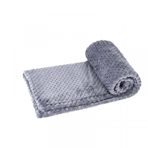 Coperta per cani trapuntata, colore grigio - Nobleza