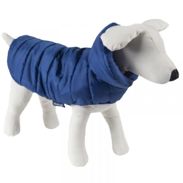 """Piumino per cani stile """"100 grammi"""", colore blu - Collezione Vitakraft"""