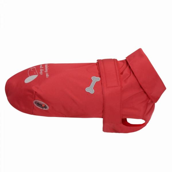 Impermeabile per cani Derry di Camon - Colore rosso