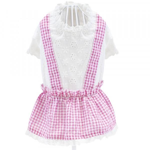 Vestitino per Cani Romantic Pink - Abbigliamento Croci