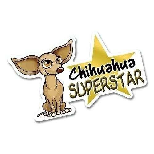 Adesivo Linea Chihuahua Nasonero Mod4