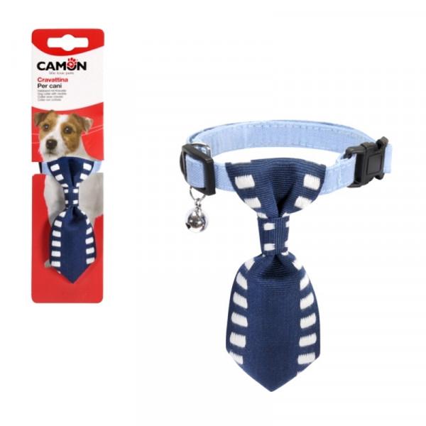 Collarino per cani con cravatta Blu di Camon