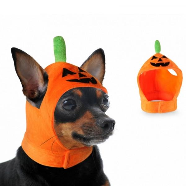 Cappello per cani Zucca di Halloween