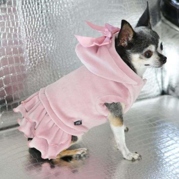 Darma cappotto ciniglia per cagnoline - Collezione Trilly tutti Brilli