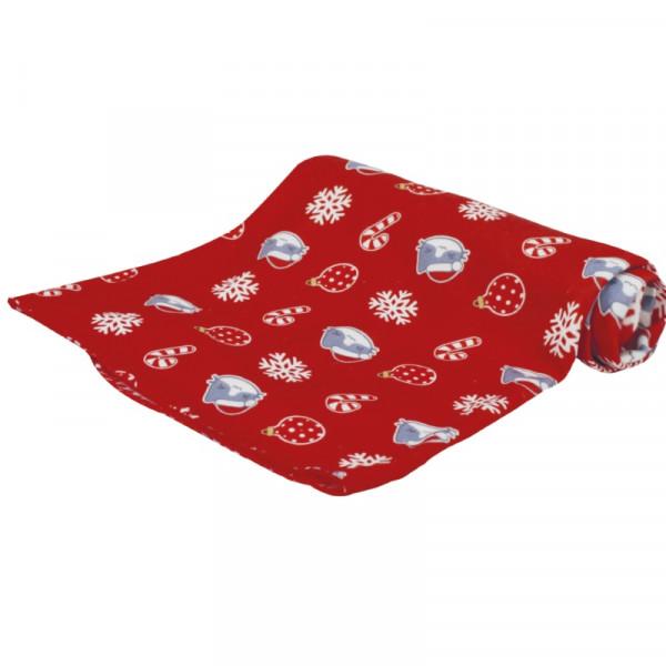 Coperta per cani natalizia Christmas Lollypop - 100x140 Cm