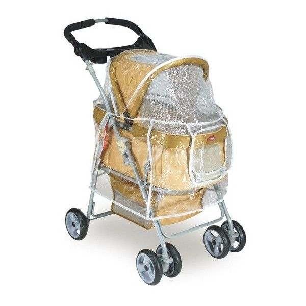 Cover Antipioggia per passeggino Comfort Double per cani