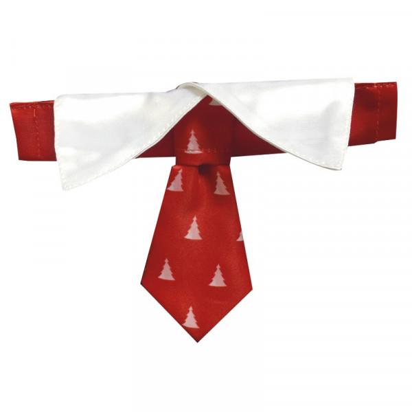 Cravatta natalizia per collare cani Christmas Tie - Linea Croci