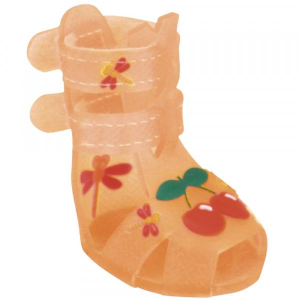 Scarpine per Cani Cherry Orange, Set da 4 - Abbigliamento Croci