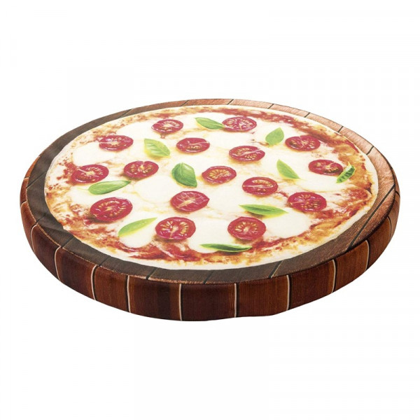 Cuccia cuscino per cani a forma di Pizza