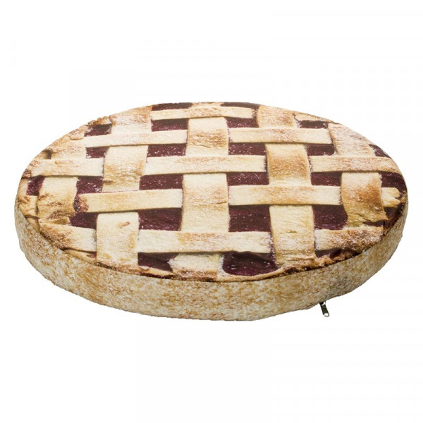 Cuccia cuscino per cani a forma di Crostata