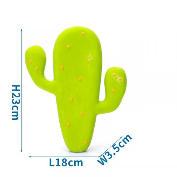 Gioco per cani Cactus con squeaker - Nobleza