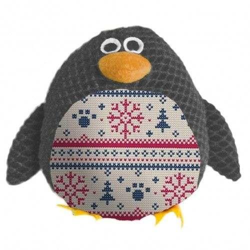 Robin the Penguin gioco per cani in peluche e tessuto con sonoro