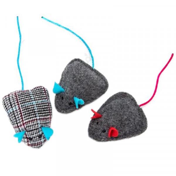 Gioco per gatti topolino in feltro - Nobleza