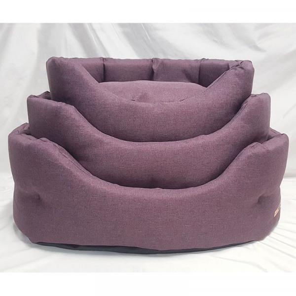 Cuccia per cani Linea Savana 1, colore rosso - Nasonero