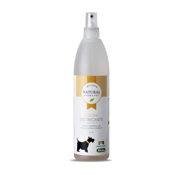 Lozione districante per spazzolatura cani bifase di Derbe - 500 ml