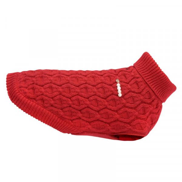 Maglione per cani Graz di Camon - Colore rosso