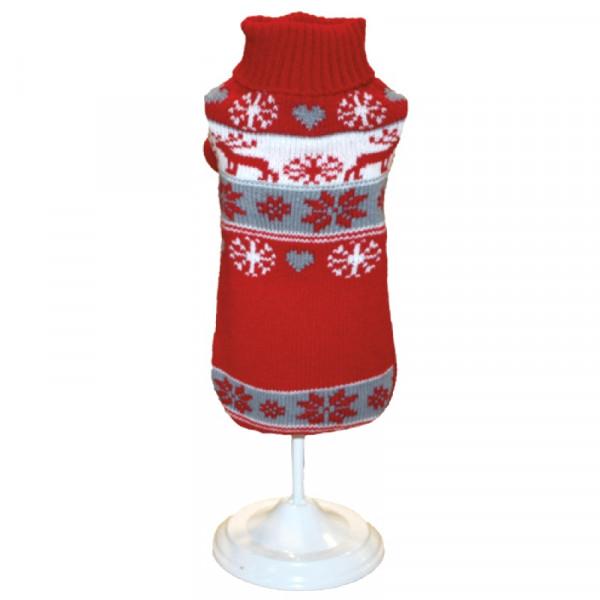 Maglioncino natalizio per cani Xmas Warm - Linea Croci