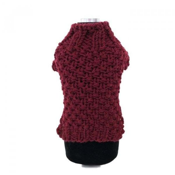 Marley bordeaux maglione per cani - Collezione Trilly tutti Brilli