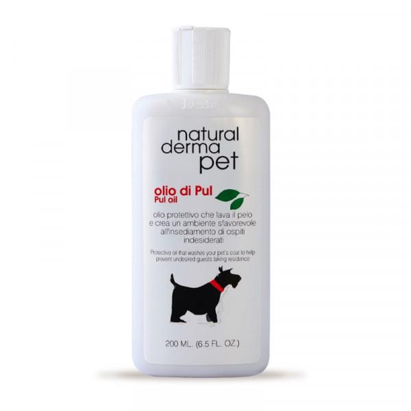 Olio di Pul Antiparassitario naturale per cani - Flacone da 200 ml