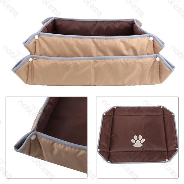 Cuccia apribile a materassino per cani Brown di Nobleza