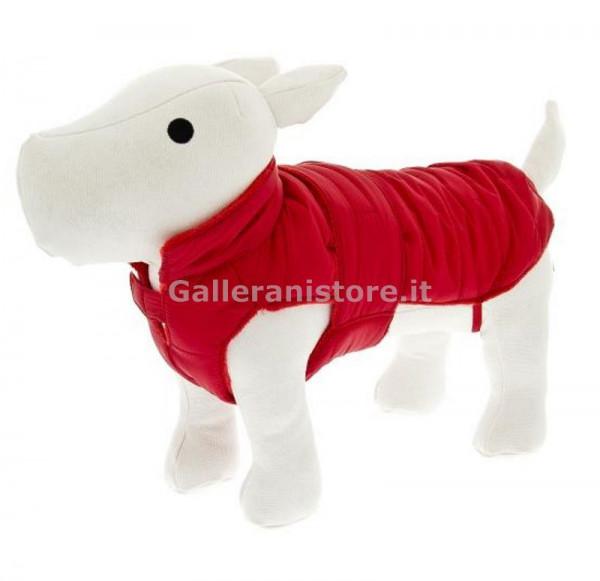 Piumino per cani Caldoso, colore Rosso - Linea Ferribiella