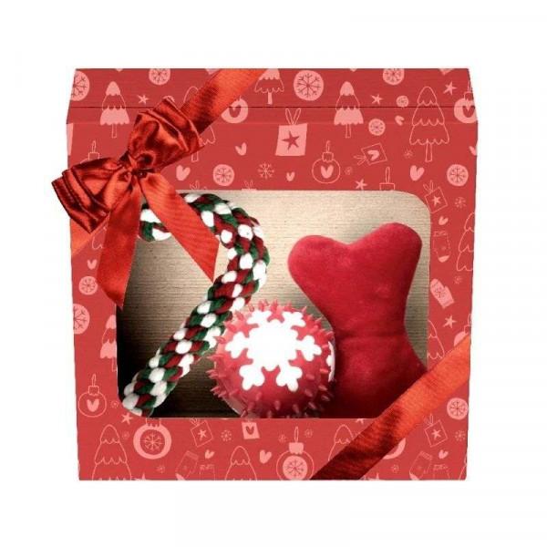 Pacco regalo GIft Box set 3 giochi per cani