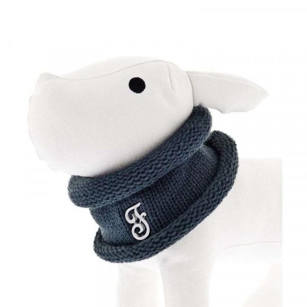 Scaldacollo per cani Blu - Linea Ferribiella