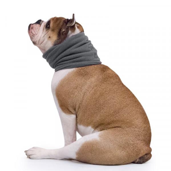 Scaldacollo per Bulldog Inglese colore Grigio