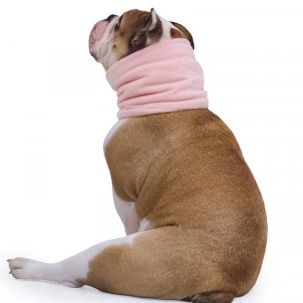 Scaldacollo per Bulldog Inglese colore Rosa