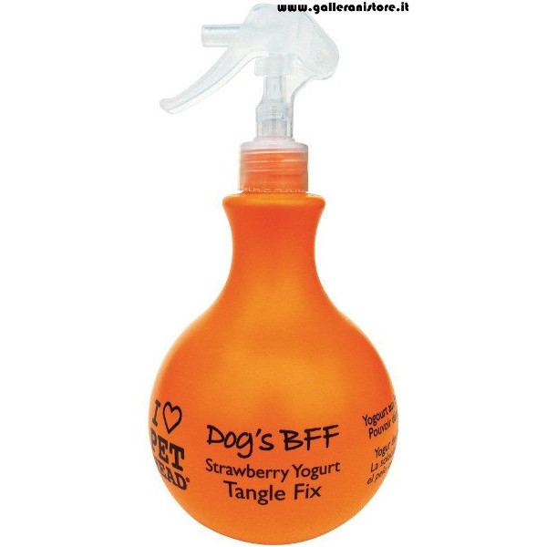 DOG'S BFF Spray a secco Scioglinodi - I LOVE PET HEAD