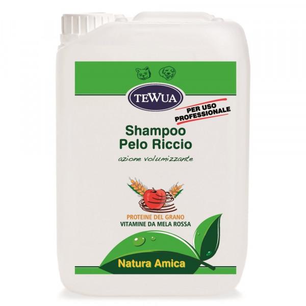 Shampoo per cani a Pelo Riccio - Tanica Lt.10 Tewua