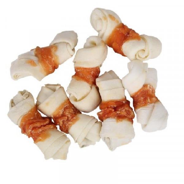 Snack per cani al pollo ossi annodati - Nobleza