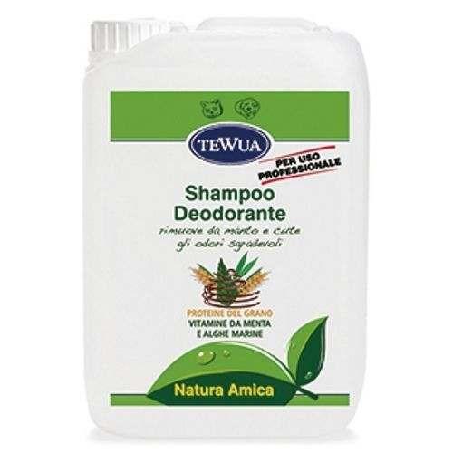 Tanica 10 Lt. Shampoo Deodorante professionale - Tewua