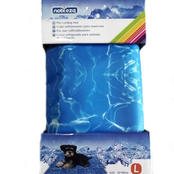 Tappetino rinfrescante per cani Pet Mat Azzurro Acqua Taglia Large CM 50x90 Nobleza