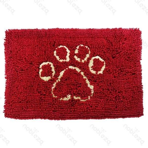 Tappeto in microfibra con orma per cani e gatti