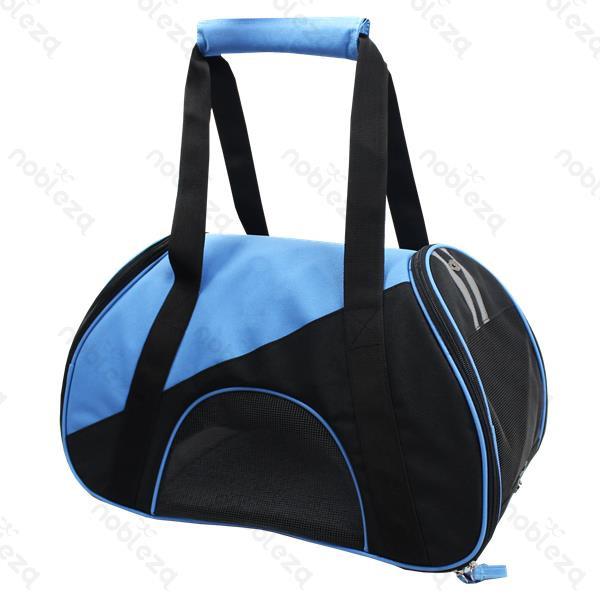 Borsa trasportino Comfortable Blu cm 47x24xh28 per cani o gatti
