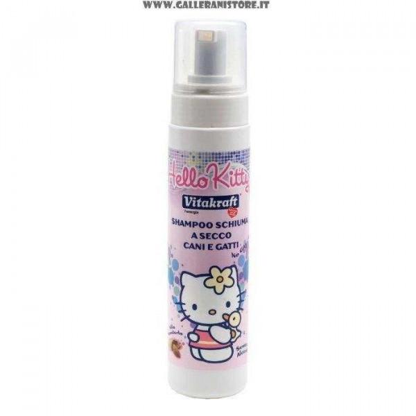 Shampoo a secco Schiuma 200ml HELLO KITTY per cani e gatti