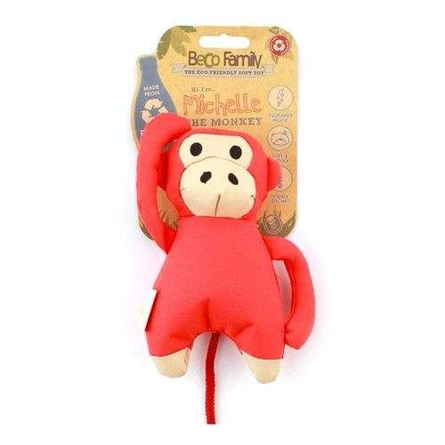 Gioco in stoffa per cani BECO Michelle The Monkey