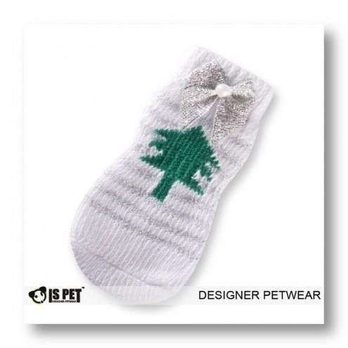 Calzine Antiscivolo Christmas Tree M ISPET per cani