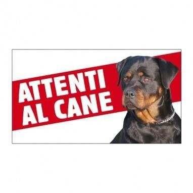 Cartello Attenti al cane Rottweiler - Farm Company