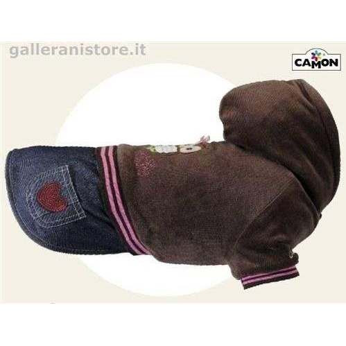 Felpa con gonna jeans INDIANA per cani - Camon