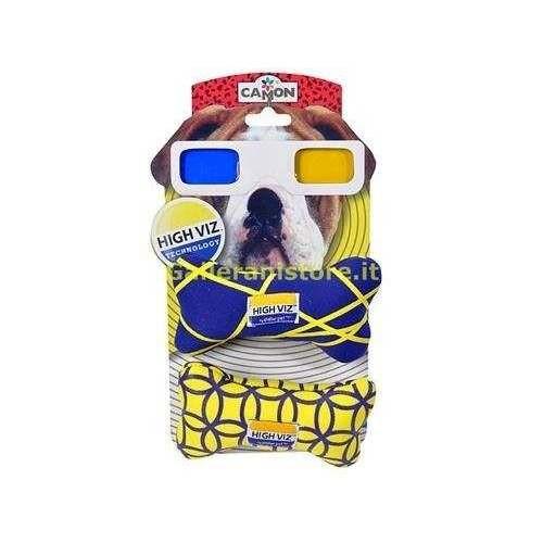 Osso tessuto cm12 gioco HIGH VIZ per cani - Camon
