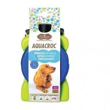 AcquaCroc Borraccia Ciotola multiuso da viaggio per cani - Farm Company
