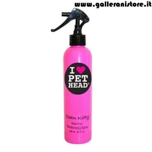 Deodorante Spray a secco per gatti CLEAN KITTY Pera d'Asia - I LOVE PET HEAD