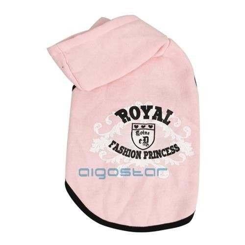 Felpa con cappuccio Pink Hoodie rosa per cani - Nobleza