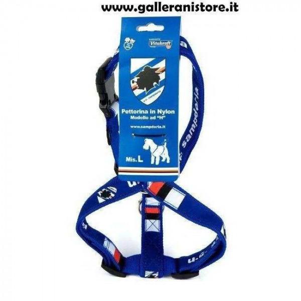 Pettorina ufficiale Sampdoria Football per cani - Squadre di calcio Serie A